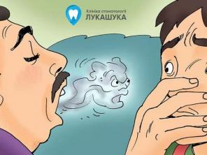 Про галитоз и как избавиться от запаха изо рта
