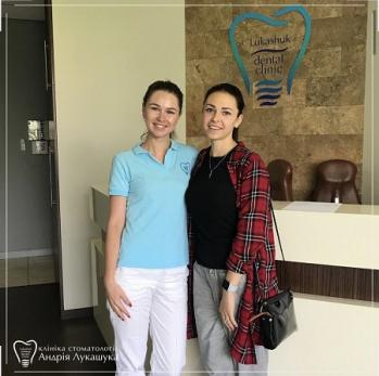 Терапевт Гонтарь Дарина Дмитриевна с пациенткой 1